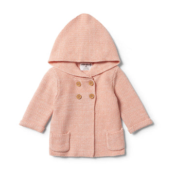 STRAWBERRY & CREAM KNITTED JACKET - Wilson and Frenchy