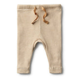 ORGANIC CARAMEL RIB LEGGING - Wilson and Frenchy