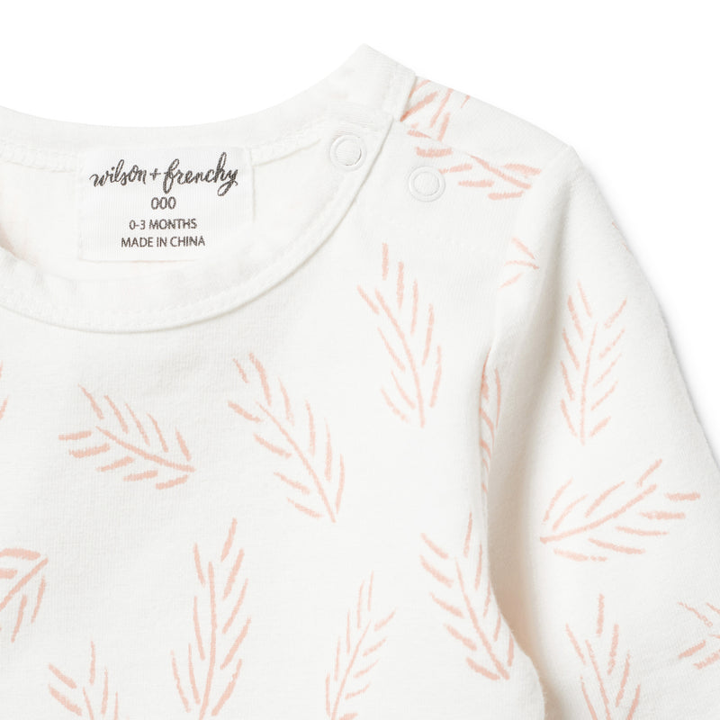 ORGANIC FLOW LONG SLEEVE TOP - Wilson and Frenchy