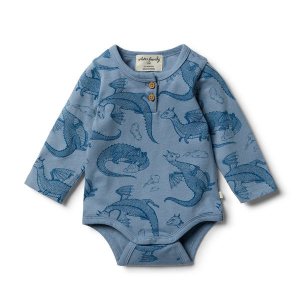 Organic Little Dragon Bodysuit