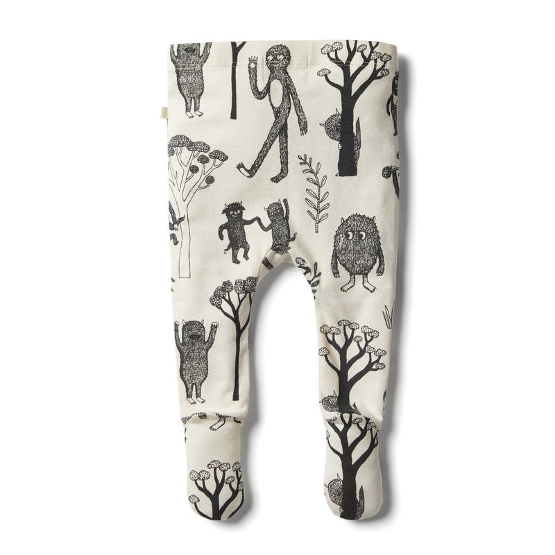 Organic Wild Footed Legging - Wilson and Frenchy