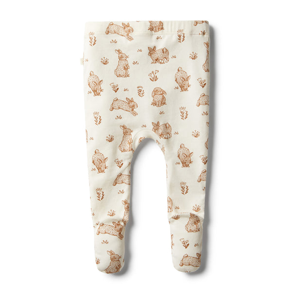 Organic Little Hop Footed Legging - Wilson and Frenchy