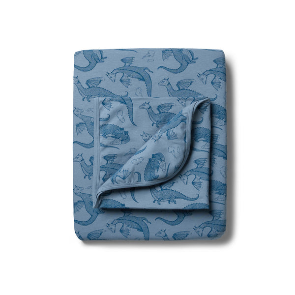 Organic Little Dragon Bassinet Sheet Set