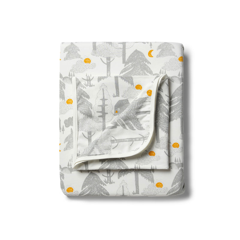 Organic Little Wander Bassinet Sheet Set