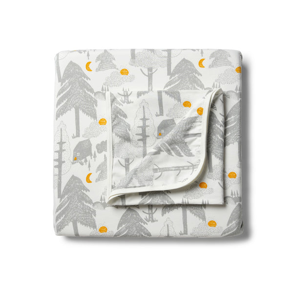 Organic Little Wander Cot Sheet Set