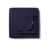 Organic Twilight Blue Cot Sheet Set