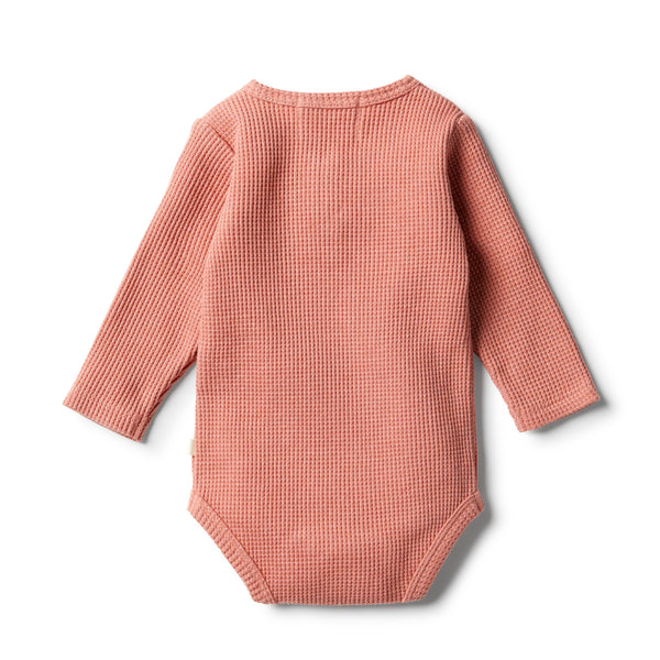Clay Waffle Bodysuit - Wilson and Frenchy