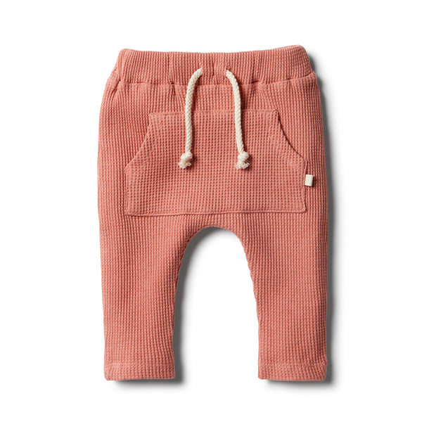 Clay Waffle Slouch Pant - Wilson and Frenchy