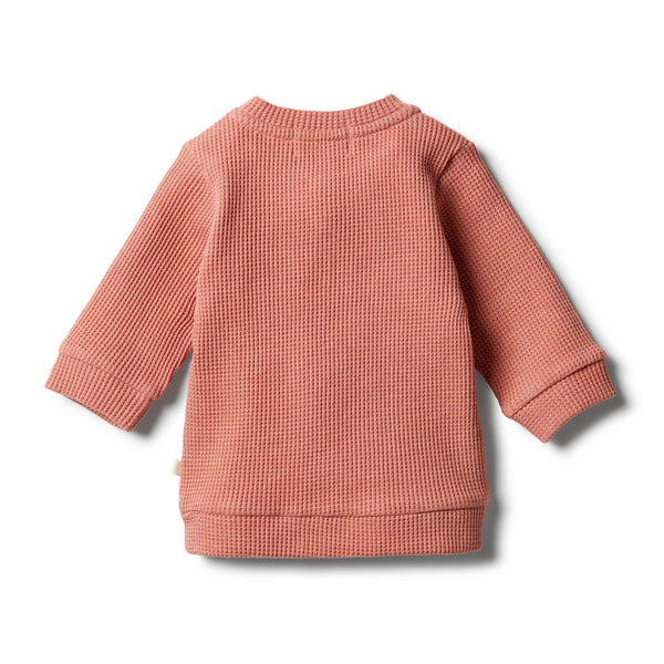 Clay Waffle Slouch Sweat - Wilson and Frenchy