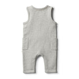 Oatmeal Speckle Growsuit - Wilson and Frenchy