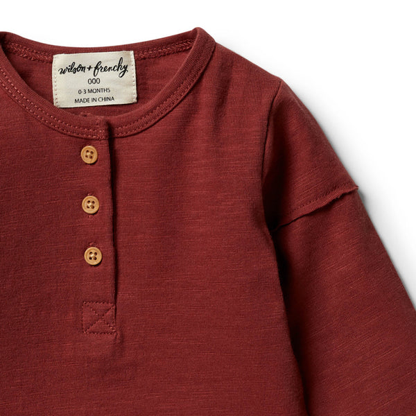 Chilli Henley Top
