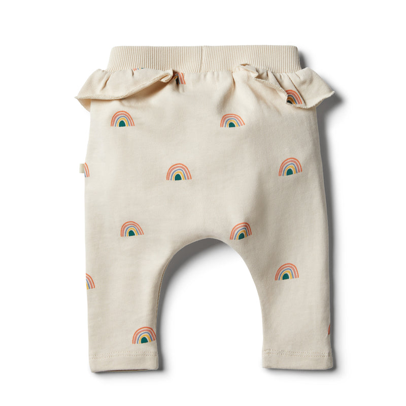 Sing A Rainbow Ruffle Pant - Wilson and Frenchy