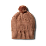 Nutmeg Knitted Jacquard Hat - Wilson and Frenchy