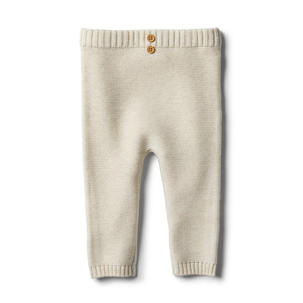 Oatmeal Knitted Legging - Wilson and Frenchy