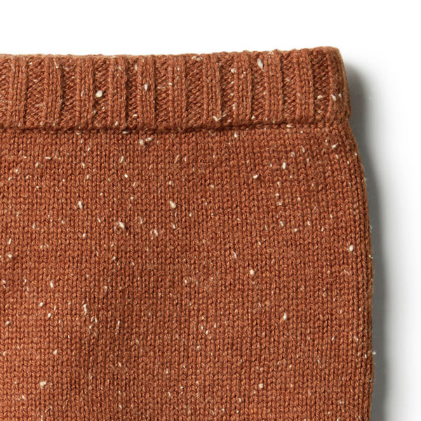 Toasted Pecan Knitted Legging