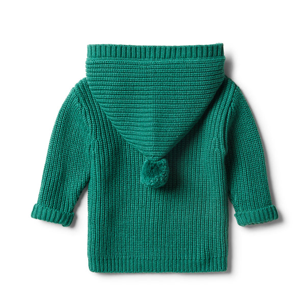 Fern Rib Knitted Jacket - Wilson and Frenchy