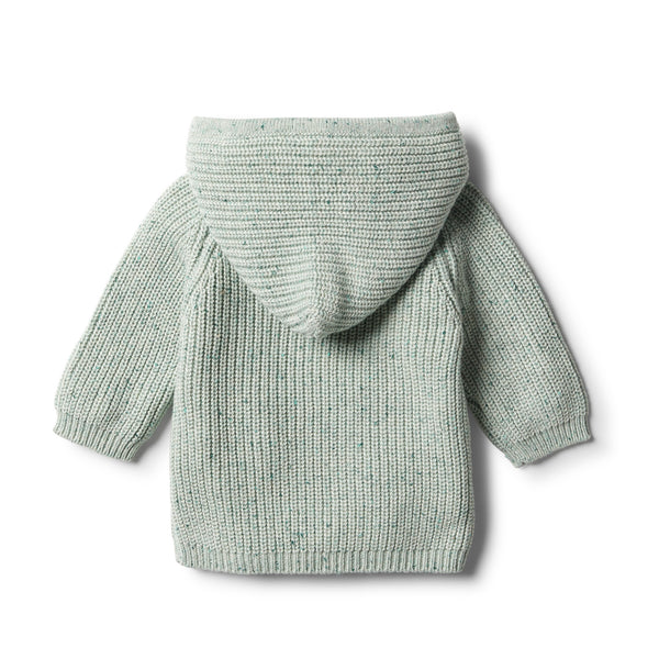 Fern Rib Knitted Hoodie - Wilson and Frenchy