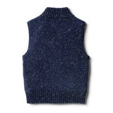 Twilight Blue Knitted Vest - Wilson and Frenchy