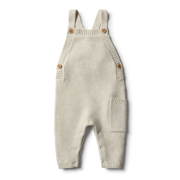 Oatmeal Knitted Overall