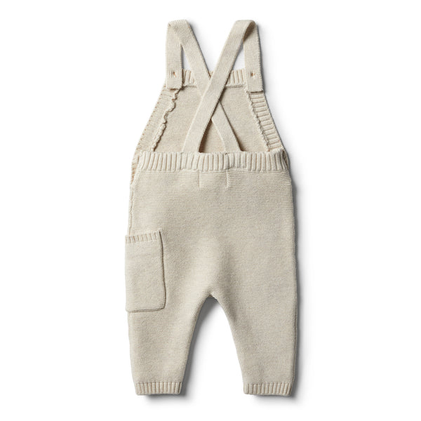 Oatmeal Knitted Overall - Wilson and Frenchy