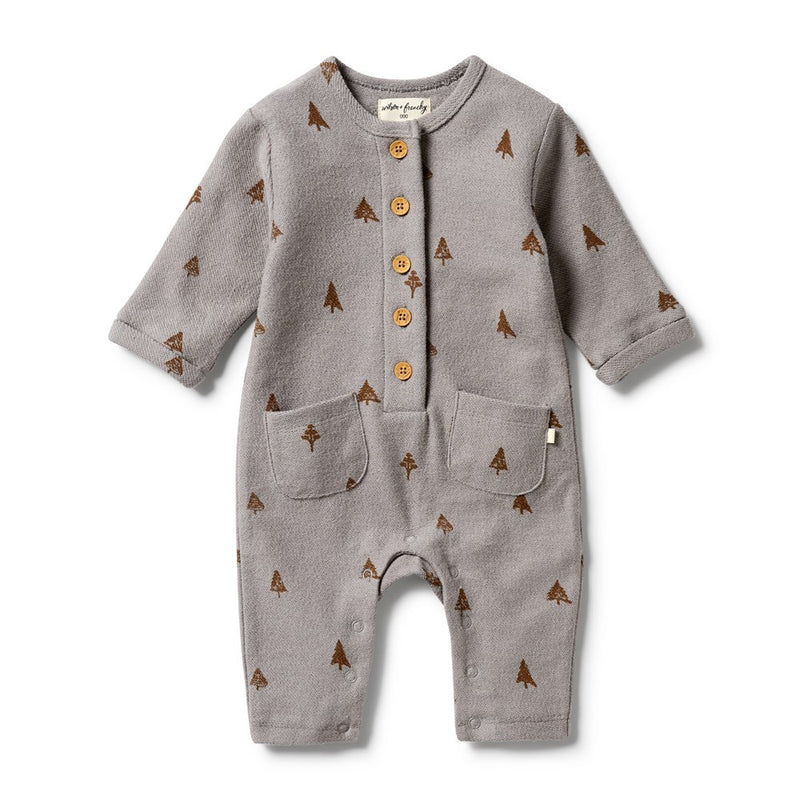French Terry Slouch Growsuit