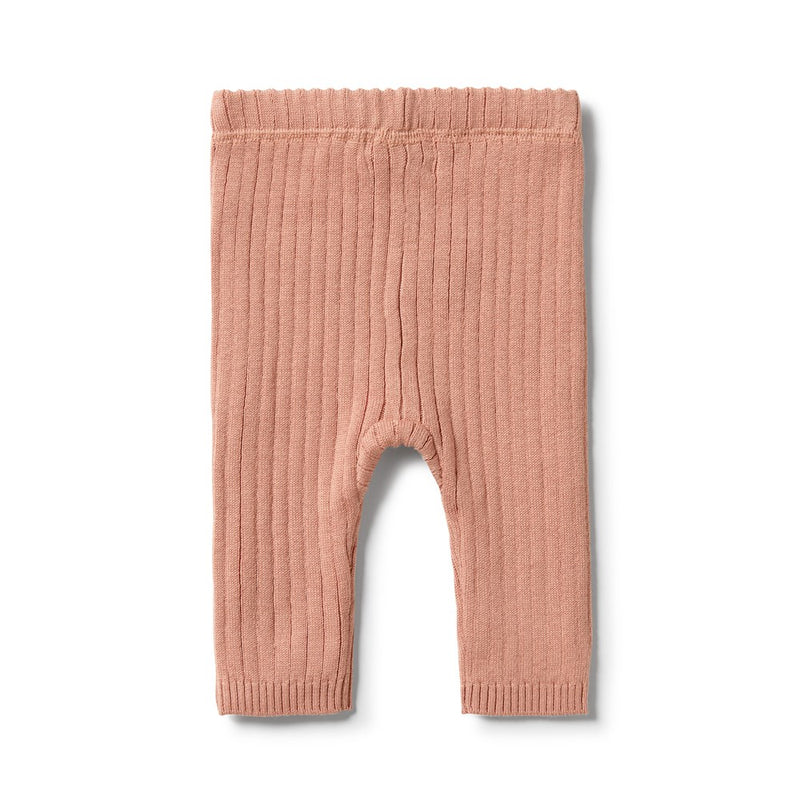 Knitted Rib Legging