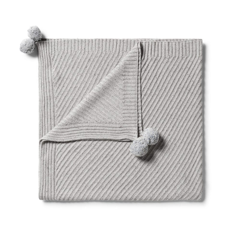 Knitted Jacquard Blanket