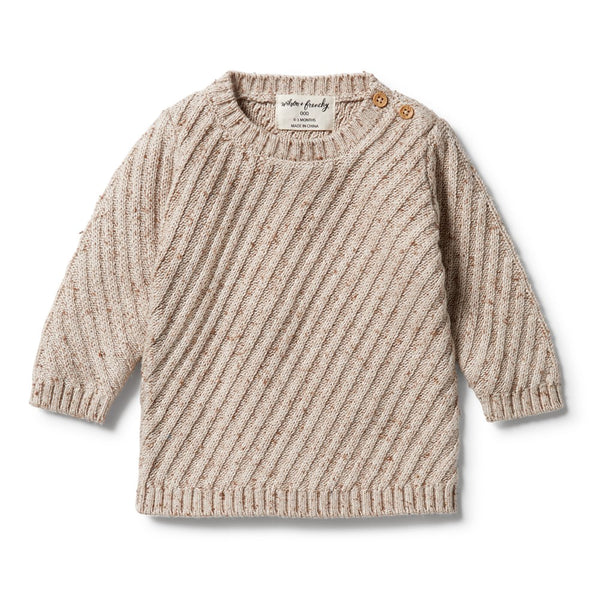 Knitted Jacquard Jumper