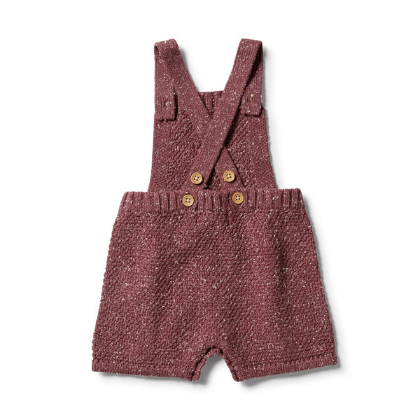 Knitted Cable Playsuit