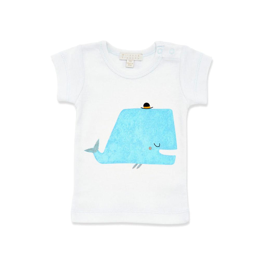LITTLE WHALE TEE - Wilson and Frenchy