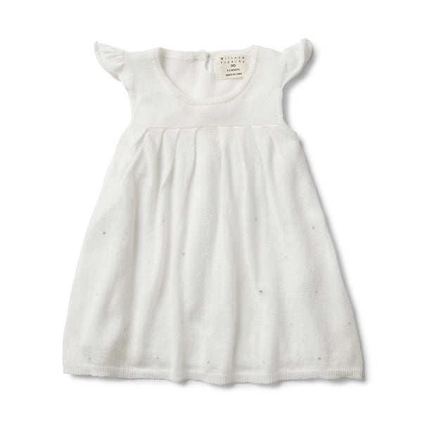 SILVER MOON DROP LINEN DRESS - Wilson and Frenchy
