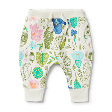 FLORA POCKET SLOUCH PANT-SLOUCH PANT-Wilson and Frenchy