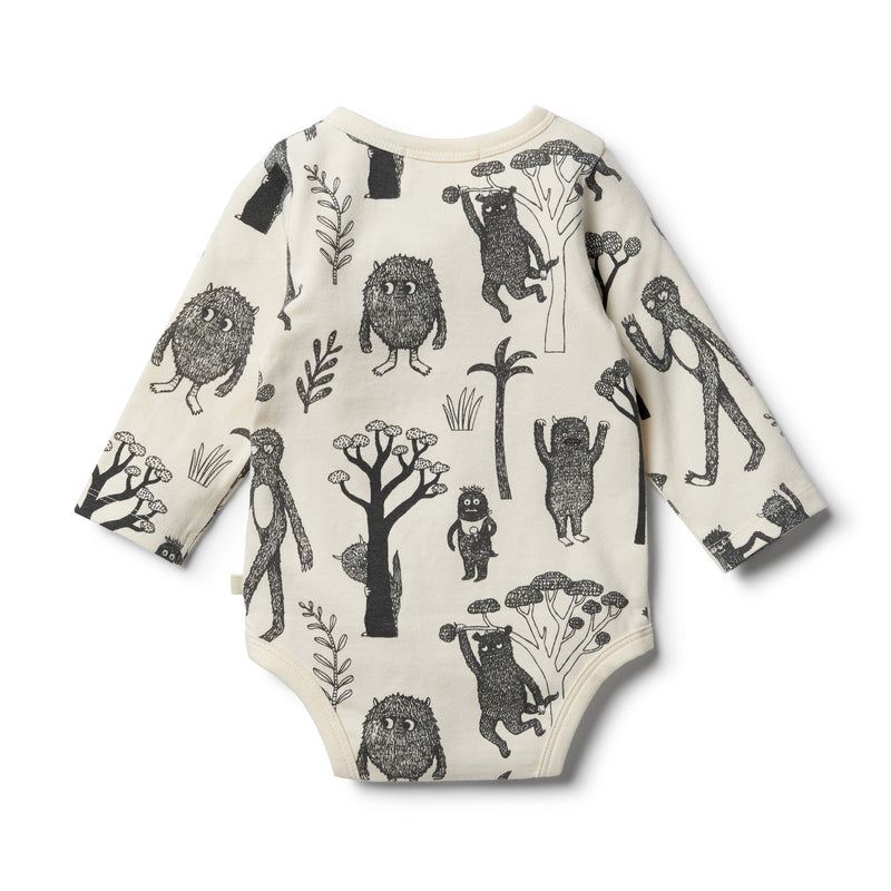 Organic Wild Bodysuit - Wilson and Frenchy