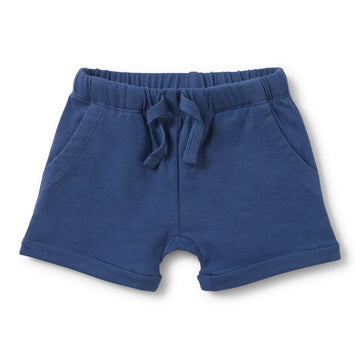 TRUE NAVY SLOUCH POCKET SHORTS-Wilson and Frenchy
