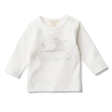 FRIENDSHIP LONG SLEEVE TOP - Wilson and Frenchy