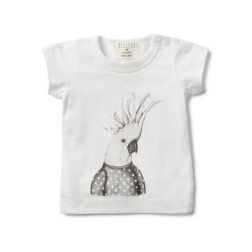 LITTLE COCKATOO SHORT SLEEVE TEE - Wilson and Frenchy