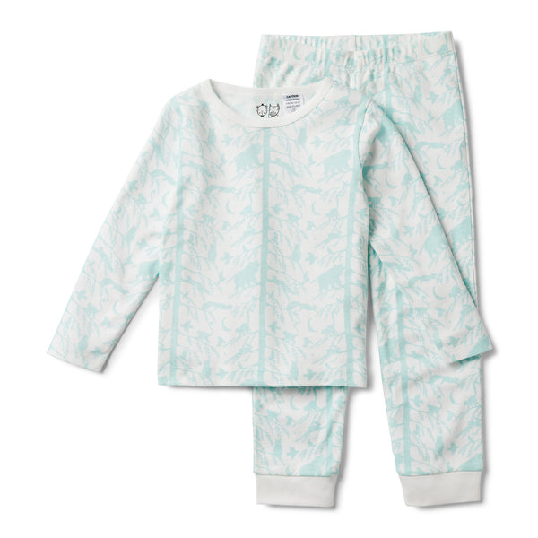BLUE ADVENTURE AWAITS PYJAMA SET