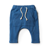 Deep Blue Slouch Pant - Wilson and Frenchy