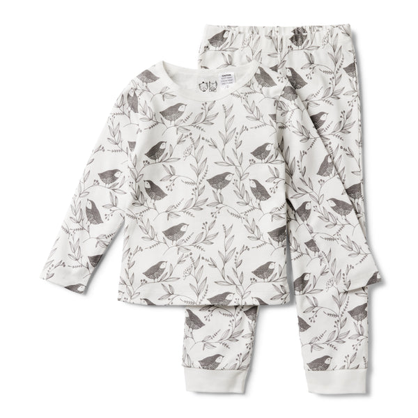 ORGANIC LITTLE FLOW PYJAMA SET - Wilson and Frenchy