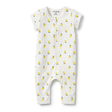 SUNSHINE SHORT SLEEVE ZIPSUIT