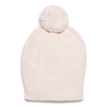 MARSHMELLOW KNITTED HAT - Wilson and Frenchy