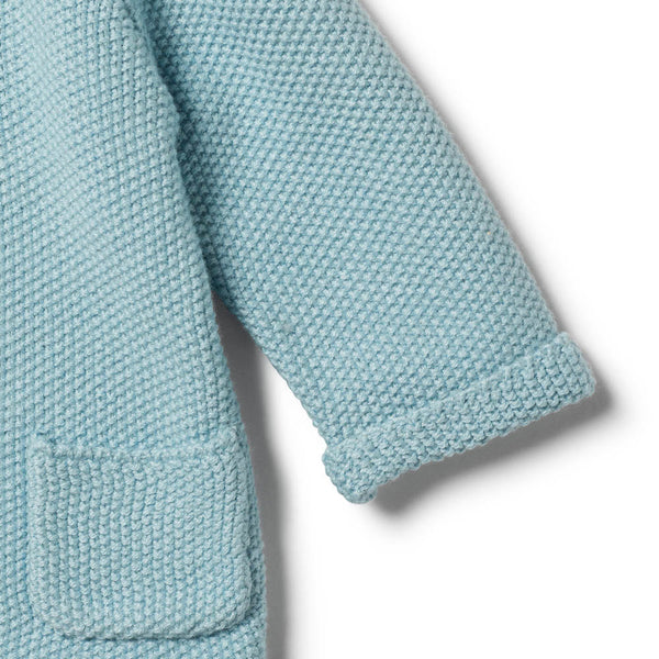 SEAFOAM KNITTED JACKET - Wilson and Frenchy
