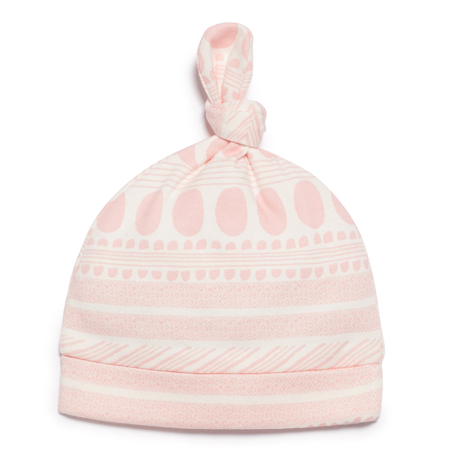 PINK MOON AZTEC KNOT HAT - Wilson and Frenchy