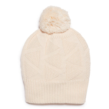 OATMEAL KNITTED HAT-KNITTED HAT-Wilson and Frenchy