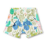 FLORA RUFFLE POCKET SHORTS - Wilson and Frenchy