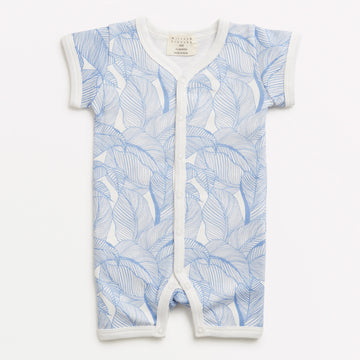 BLUE INTO THE JUNGLE SHORT GROWSUIT-GROWSUIT-Wilson and Frenchy