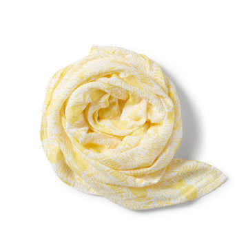 MELLOW YELLOW MUSLIN WRAP - Wilson and Frenchy