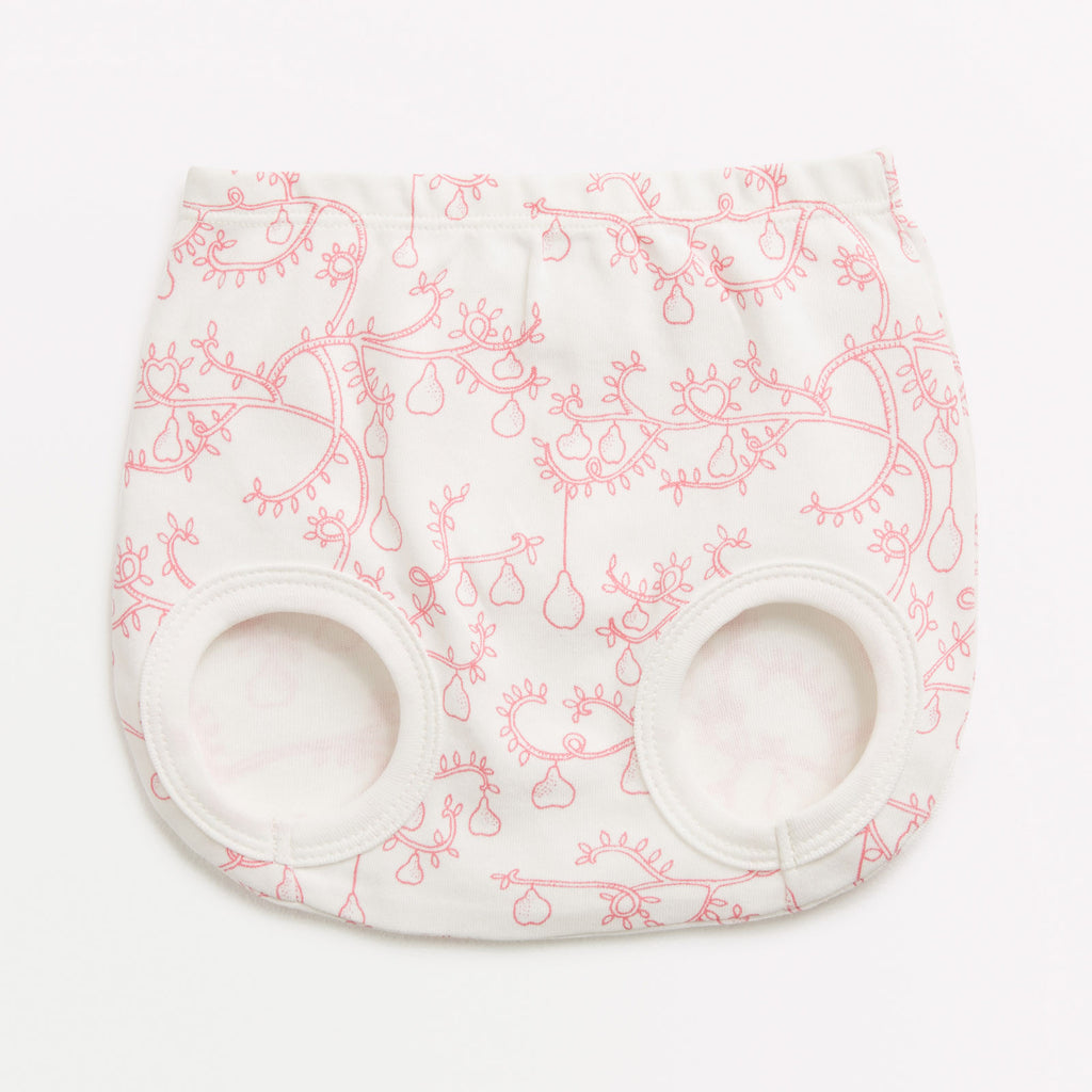 Little pear tree nappy pant