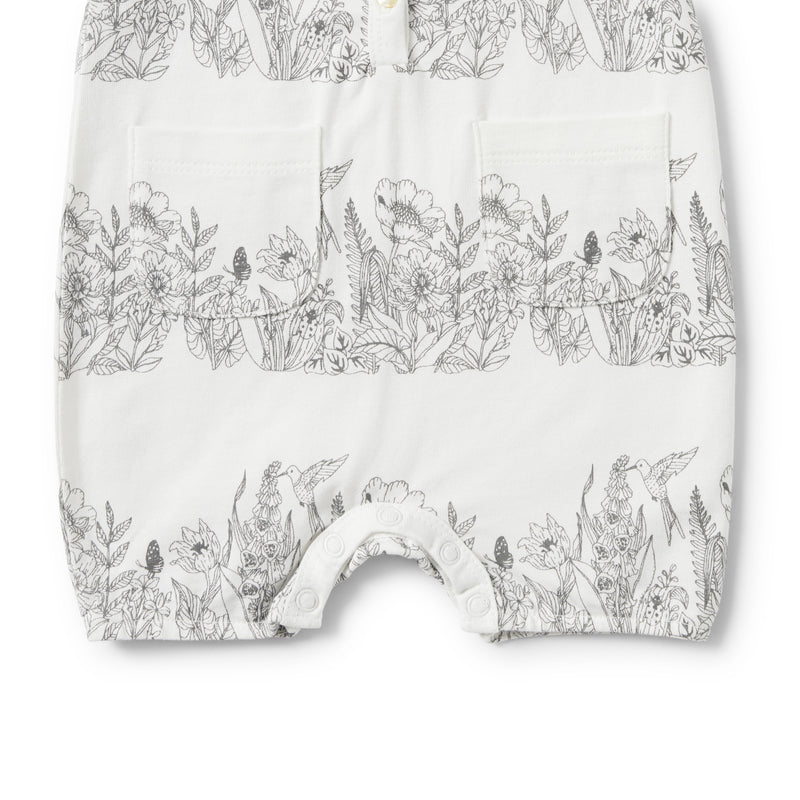 WONDERFUL SINGLET PLAYSUIT - Wilson and Frenchy