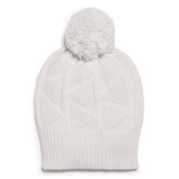 GLACIER GREY KNITTED HAT - Wilson and Frenchy
